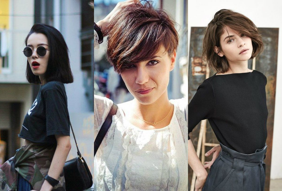 In a word there are better solutions short haircuts for thin hair