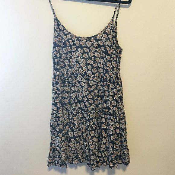 NEW Brandy Melville dress New brandy Melville flower dress! Brandy Melville Dresses Mini