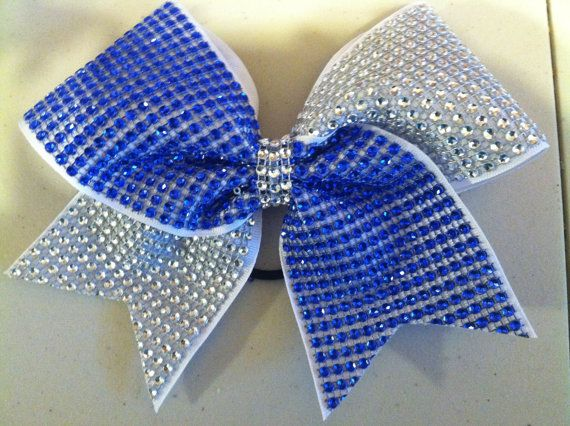 Hey, I found this really awesome Etsy listing at https://www.etsy.com/listing/198475831/royal-blue-and-silver-bling-on-white