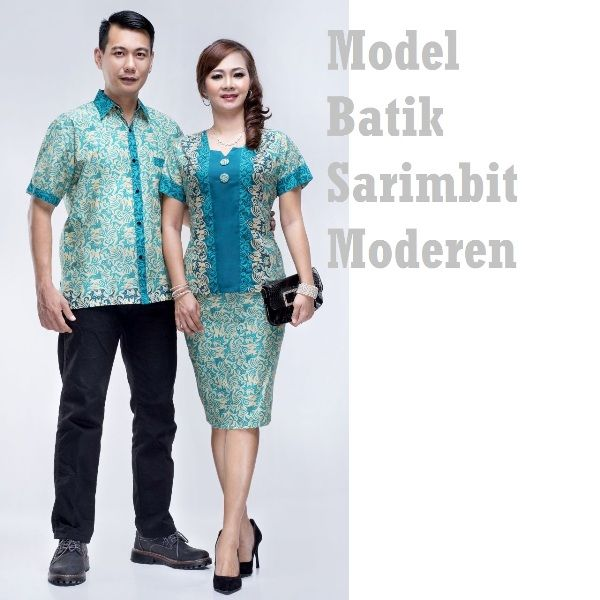 Model Baju Batik Couple Untuk Anak Muda Dan Seragam Kerja Motif