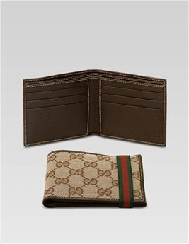 huge discount 8a5f5 f17b8 Basic Bi-Fold Wallet-152621 Ffk1R 9791 | Gucci Purse ...