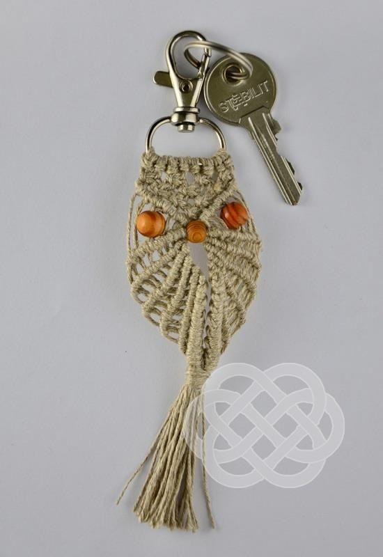 How to make Macrame Owl   Owl Ornament   Macrame, Macrame ...