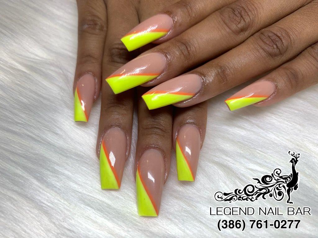Legend Nail Bar Nail Salon In Port Orange Florida 32127 Nails Manicure Nail Bar
