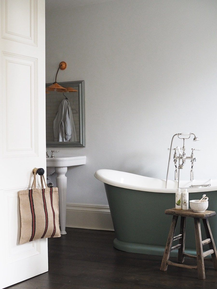 Luxurious Green Roll Top Bath Doggy Friendly Hotels In The Uk No 38 Park Cheltenham Review