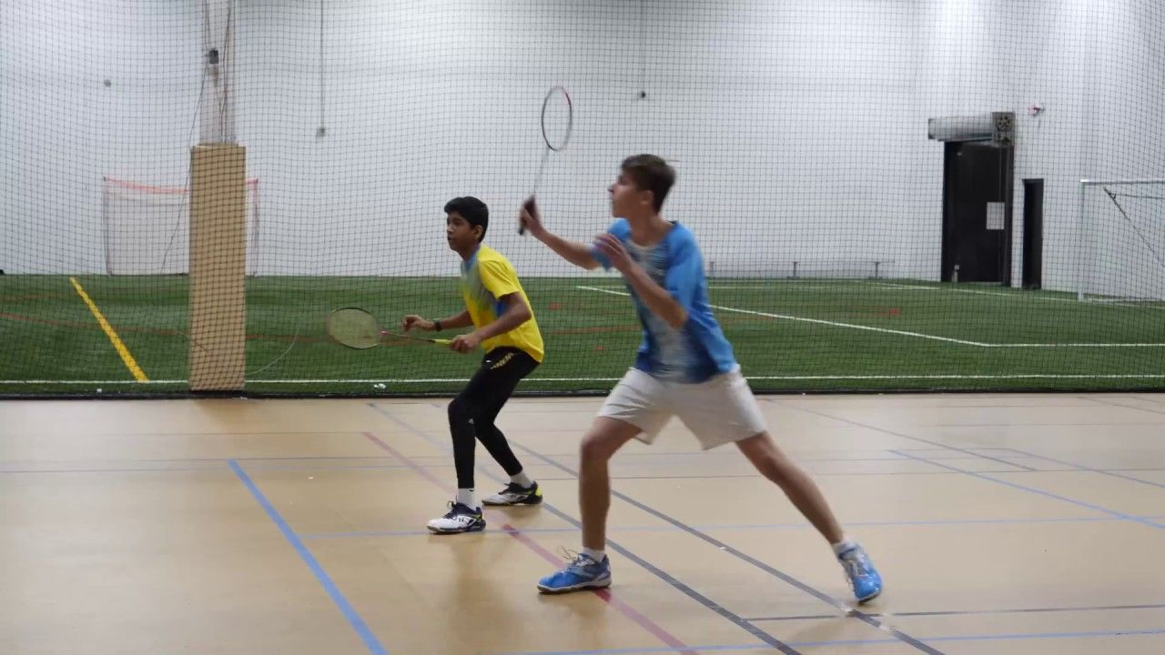 Badminton Tips for Doubles Coach Andy Chong Badminton