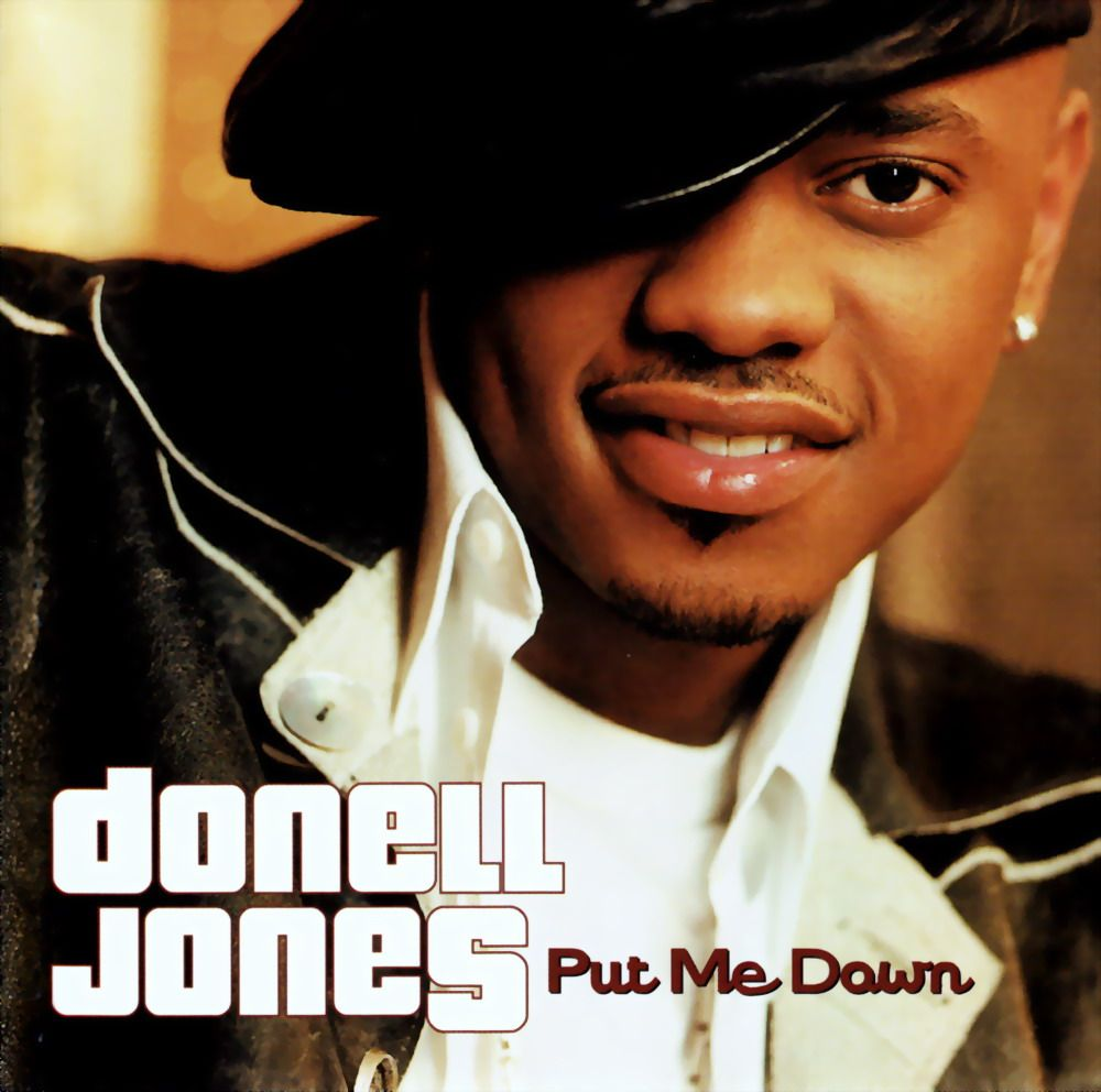 donnell jones cd | Donell Jones - Put Me Down-Promo-CDS-2002