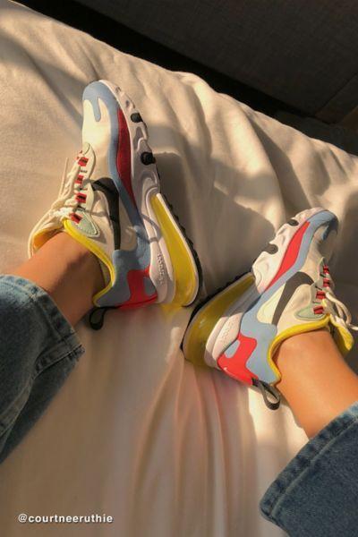 Nike Air Max 270 React Sneaker Em 2020 Com Imagens Tenis Da