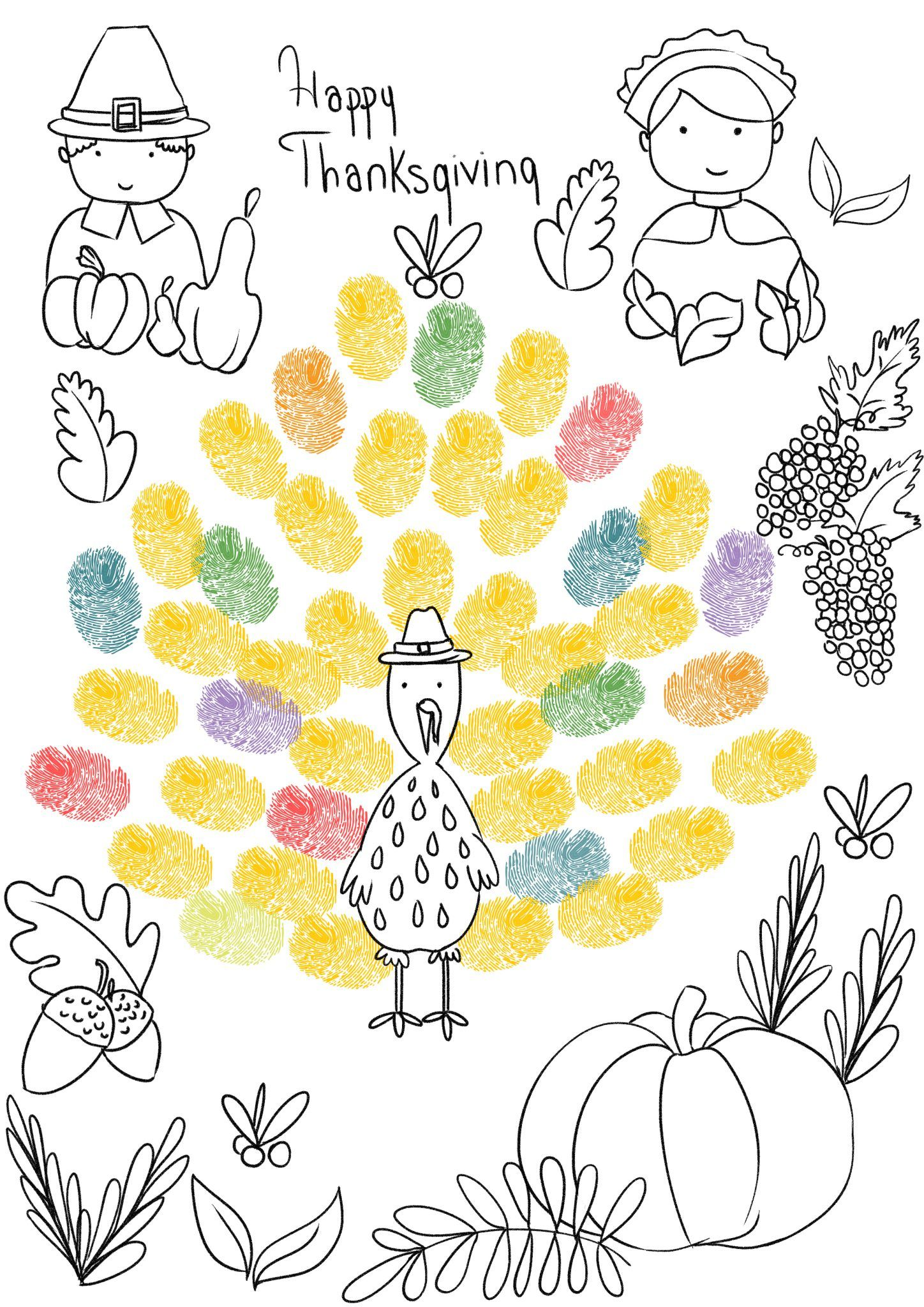 Free Thanksgiving Printables For The Kids Table Enjoy
