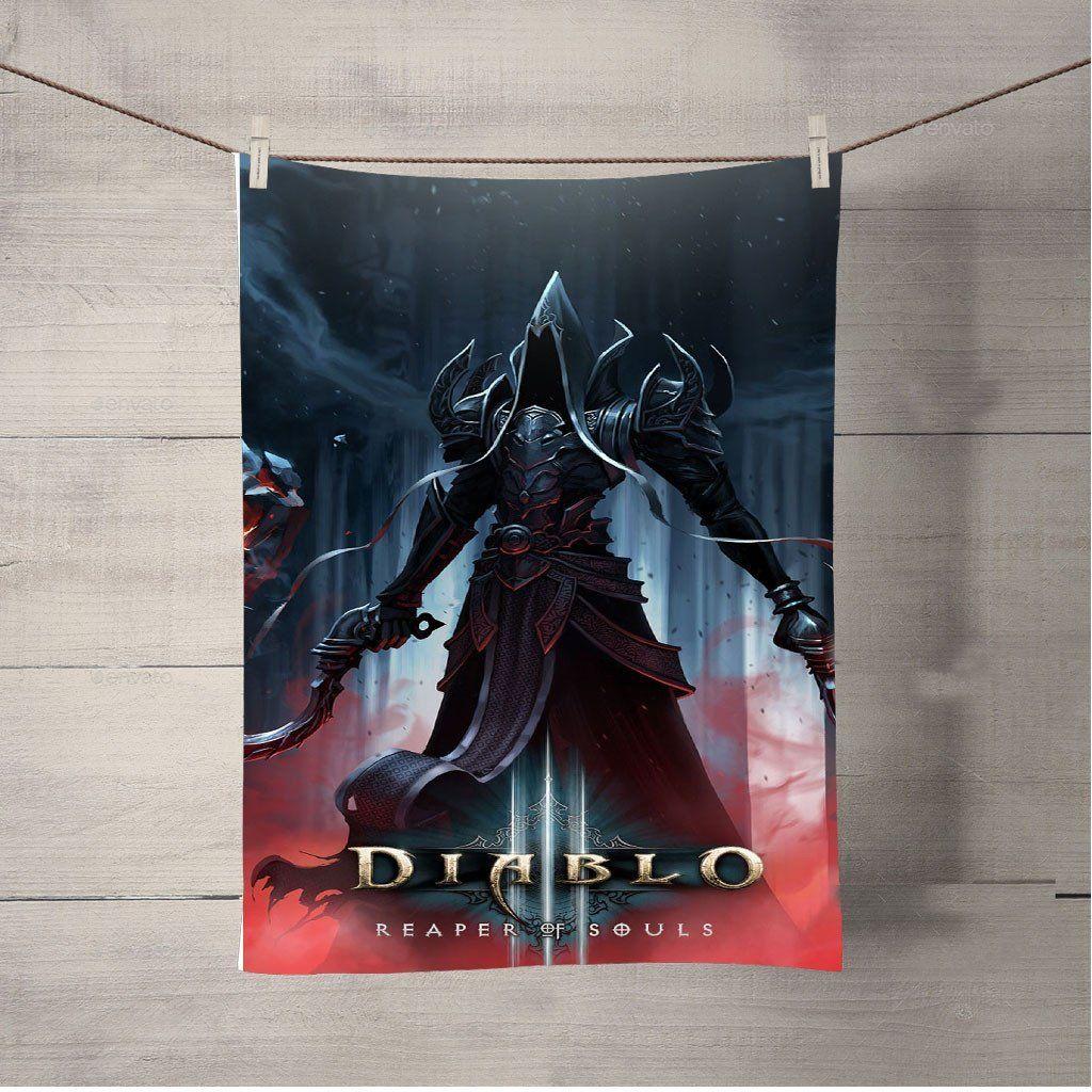 Diablo 3 Reaper Of Souls Bath Towel Beach Towels | Products