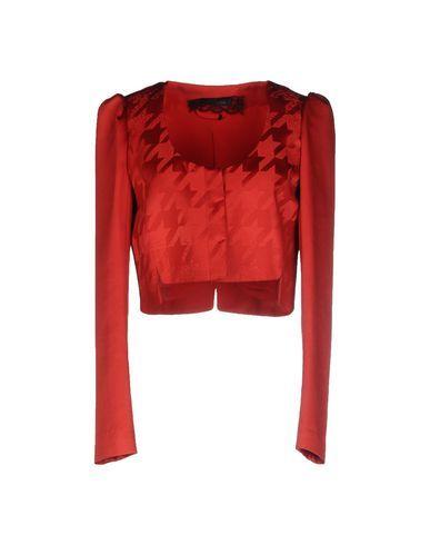 PATRIZIA PEPE SERA Women's Blazer Red 6 US
