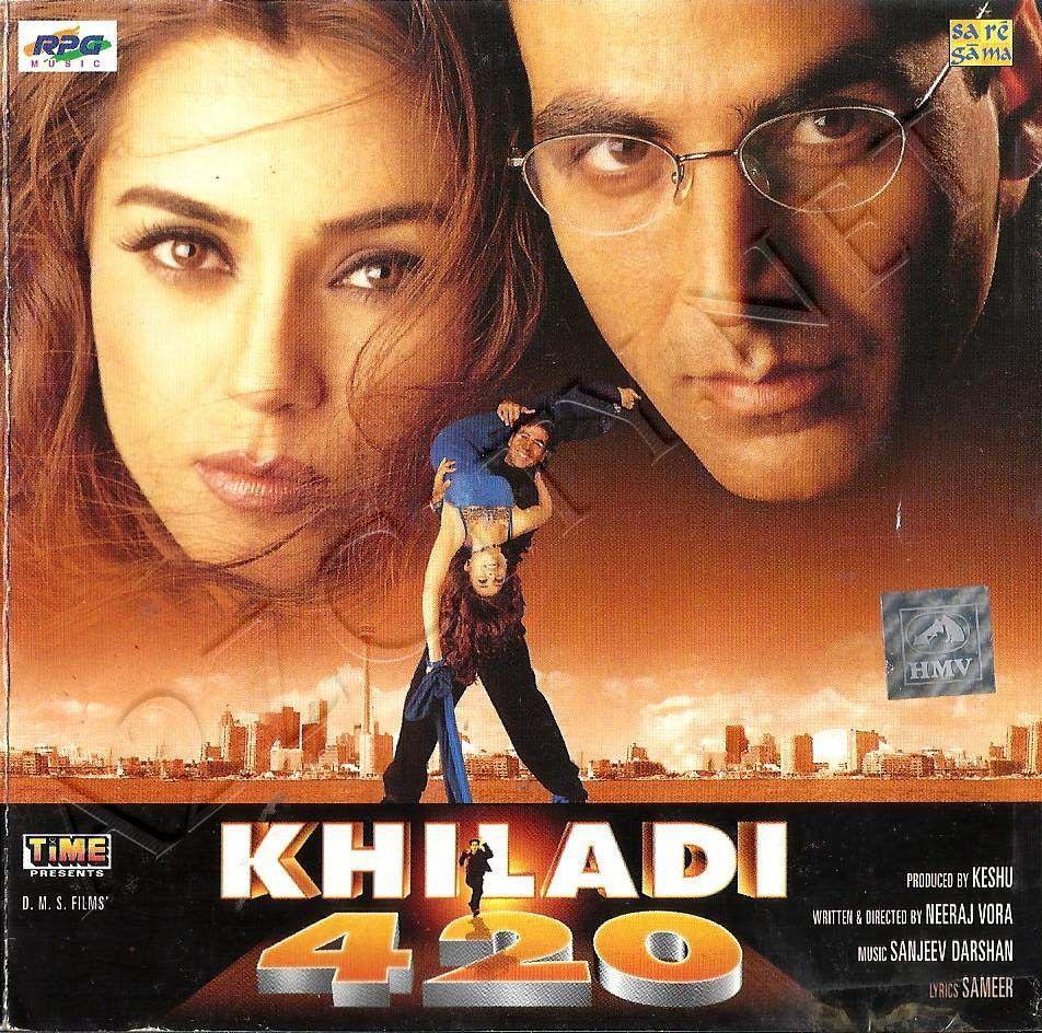 Khiladi 420 2000 Mp3 Vbr 320kbps Bollywood Songs Bollywood Movie Movie Posters