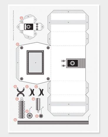 Pinhole CCTV Template New £200 Printables Paper camera