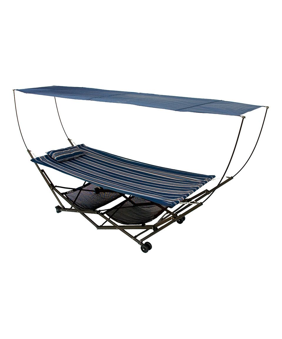 Loving this stowez portable hammock u stand on zulily