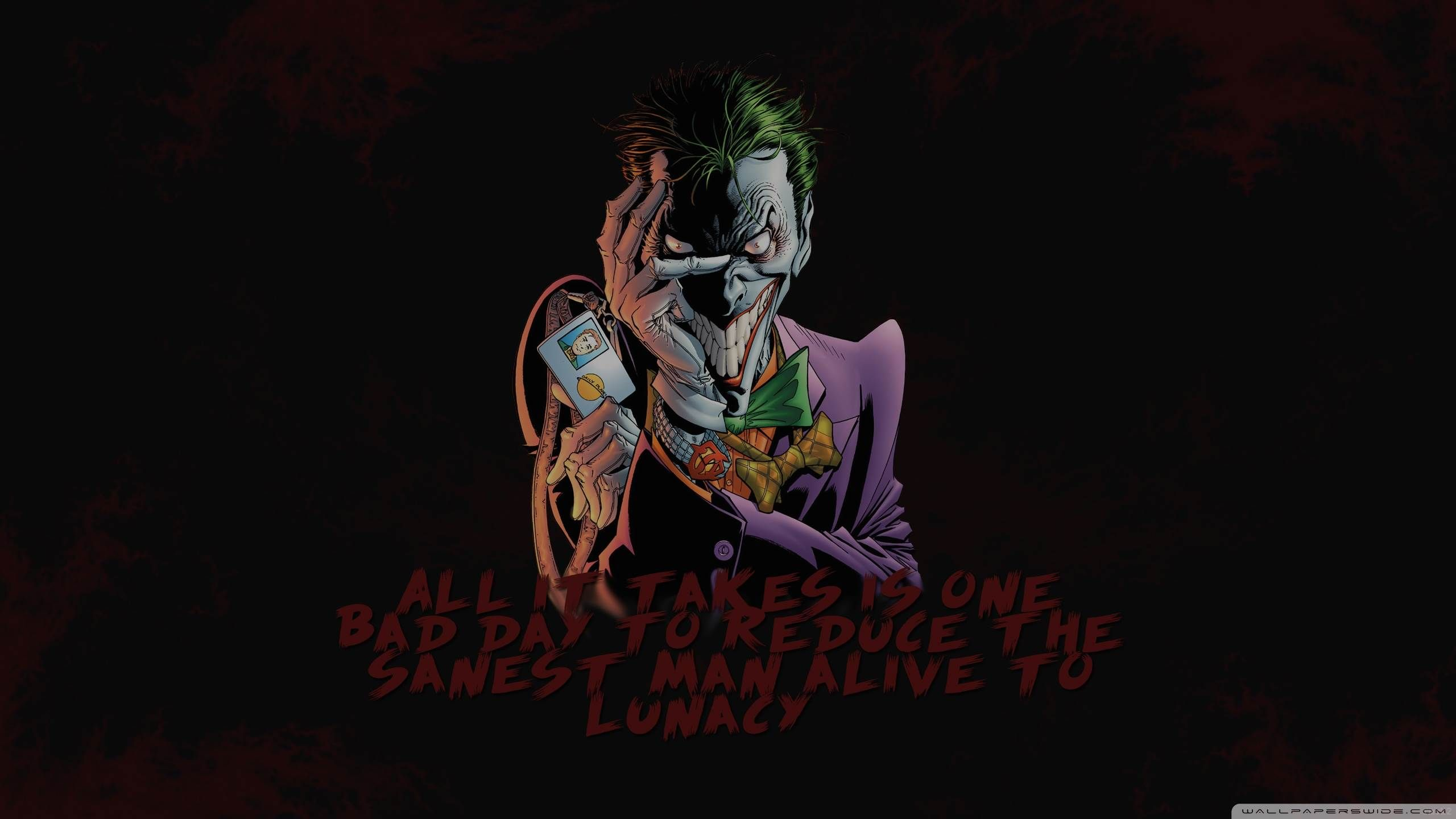 batman and joker wallpapers wallpaper 2560×1440 joker images