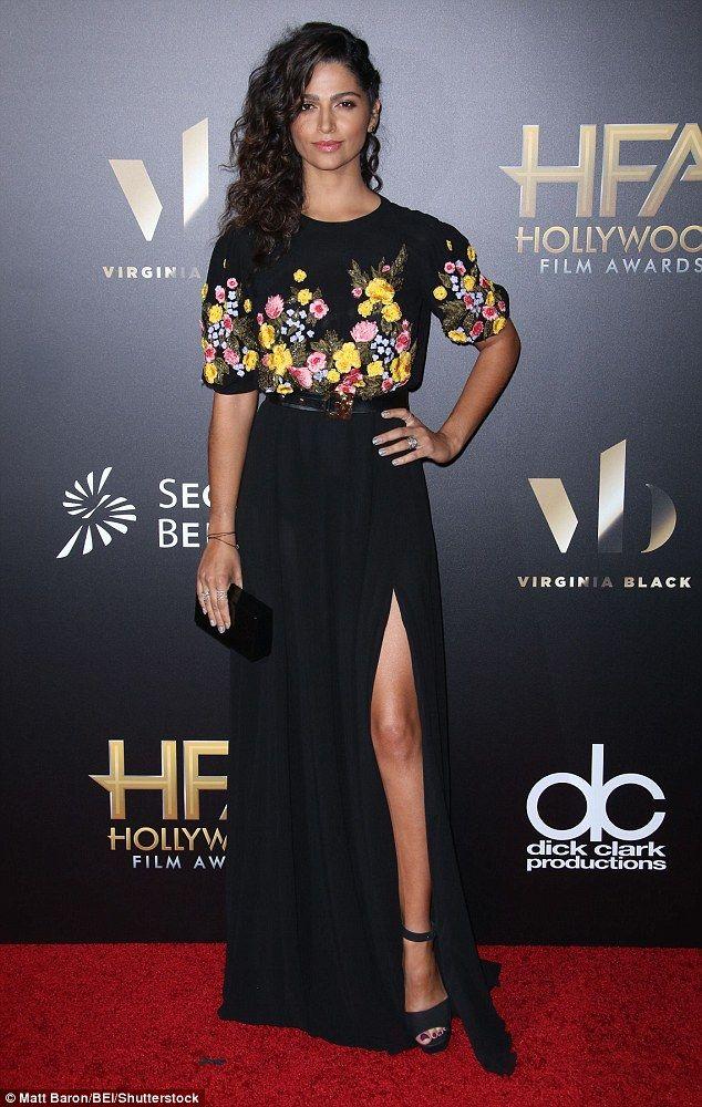 Matthew McConaughey And Camila Alves Stun At The Hollywood Film Awards