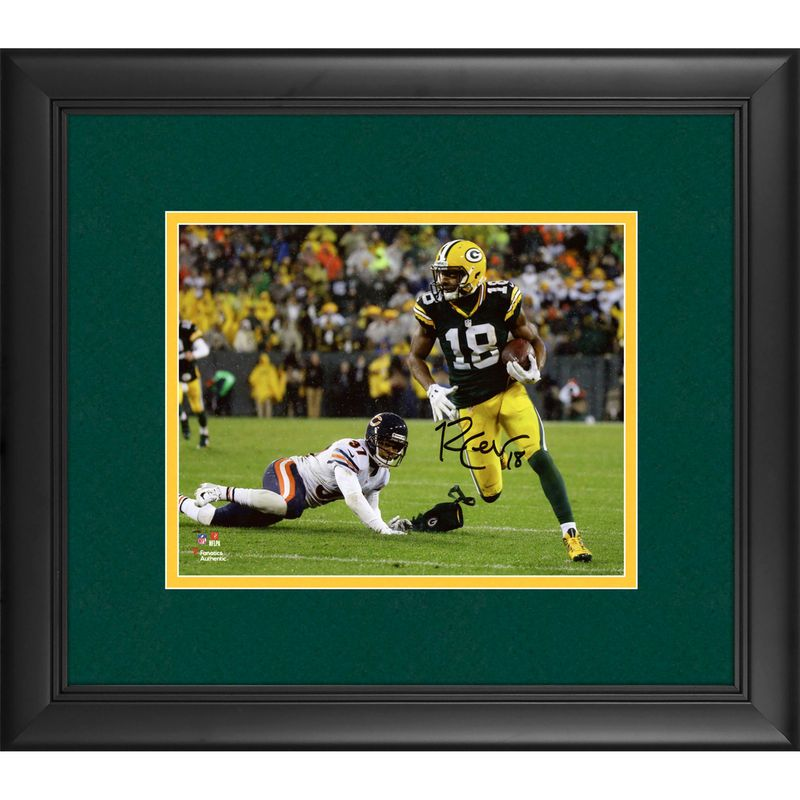 Randall Cobb Green Bay Packers Fanatics Authentic Framed Autographed ...