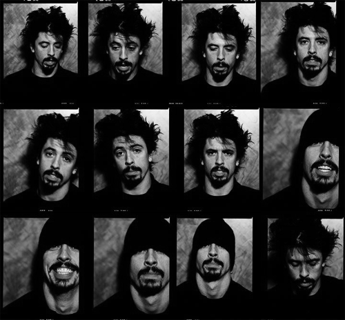 The many faces of Nirvana and Foo Fighters Dave Grohl #foofighters #davegrohl #nirvana