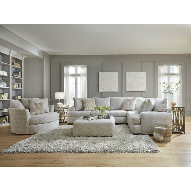 Latitude Run Anacelis 89 Right Hand Facing Sectional Wayfair Living Room Sets Furniture Sectional Sofa Couch Furniture