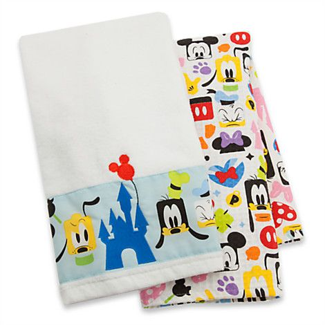Mickey Mouse and Friends Colorful Kitchen Towel Set | Disney Parks ...