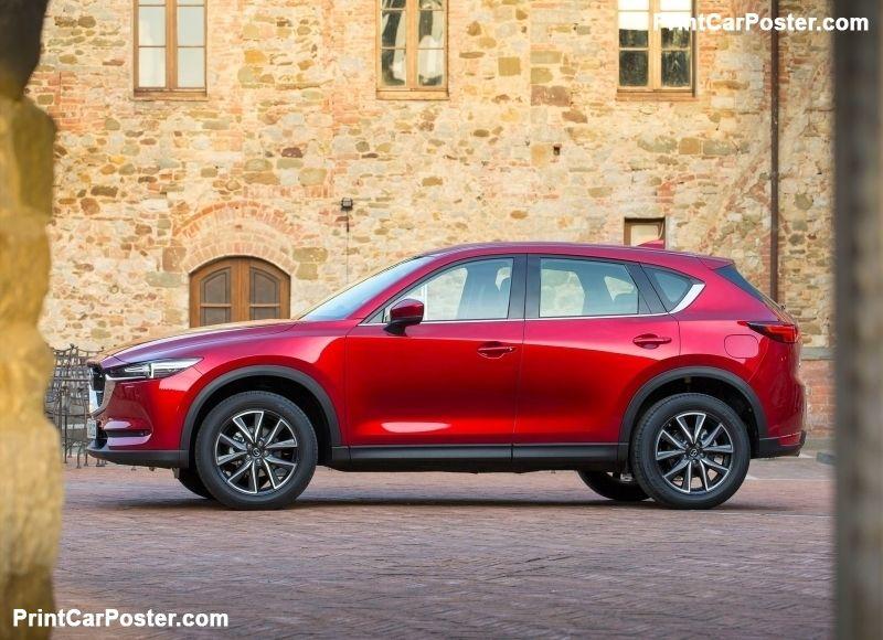 Mazda CX-5 [EU] 2017 poster | Mazda and Cars