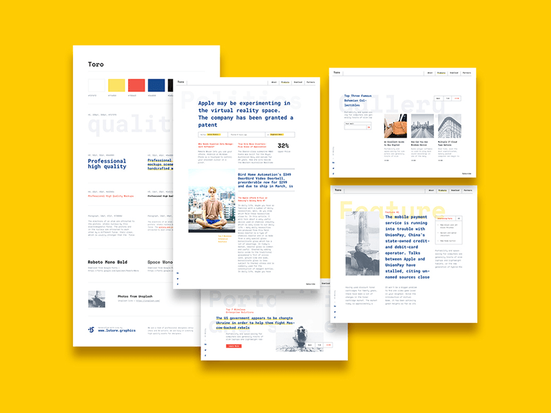Pin On Style Guide Templates