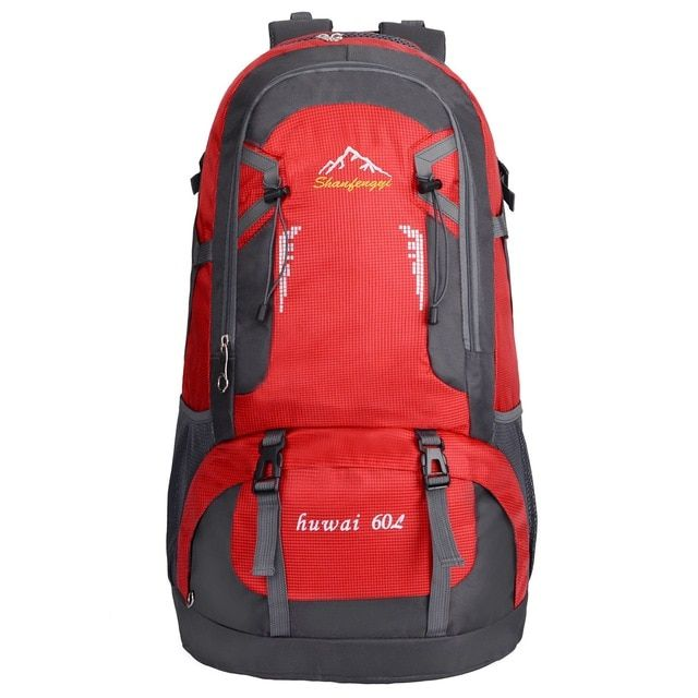 60L Waterproof Outdoor Backpack Sports Bag for Hiking Travel Mountaineering  Rock Climbing Trekking Camping Review 4b890a535e