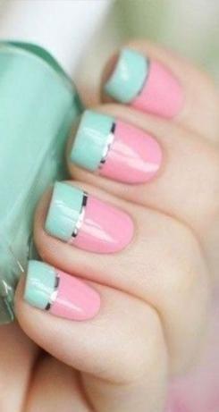 #vakantie #zomer #pastel # nagels #ideeën #best Beste vakantie zomer nagel