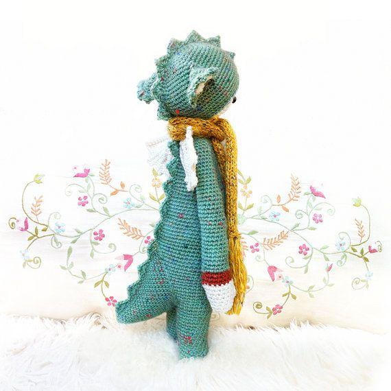 PATRON au crochet DIRK le dragon PDF par lalylala sur Etsy | suu tam ...