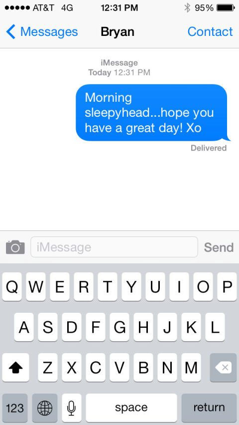 flirty good morning text for crush