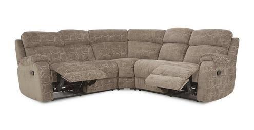 Newbury Manual Recliner Corner Sofa Circle Dfs