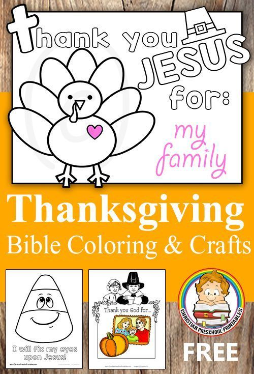 Thanksgiving Bible Coloring Pages   Christian preschool ...
