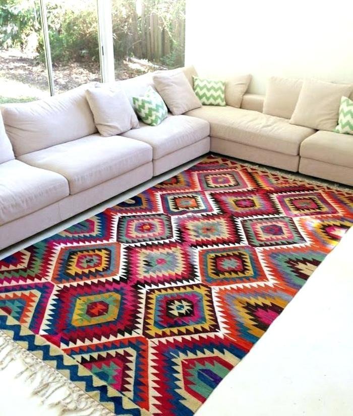teppich kissen vintage teppiche gestalten ihre wohnung erstaunlich