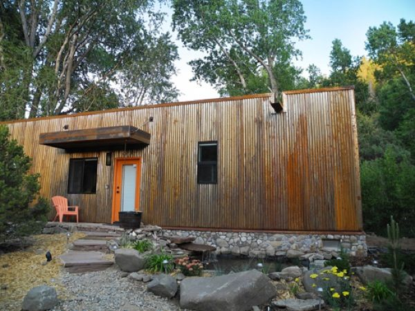 Simple Living in a 900 Square Foot Modern/Rustic Eco Cabin