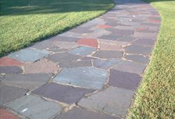 instructions for laying your own flagstone patio flagstone