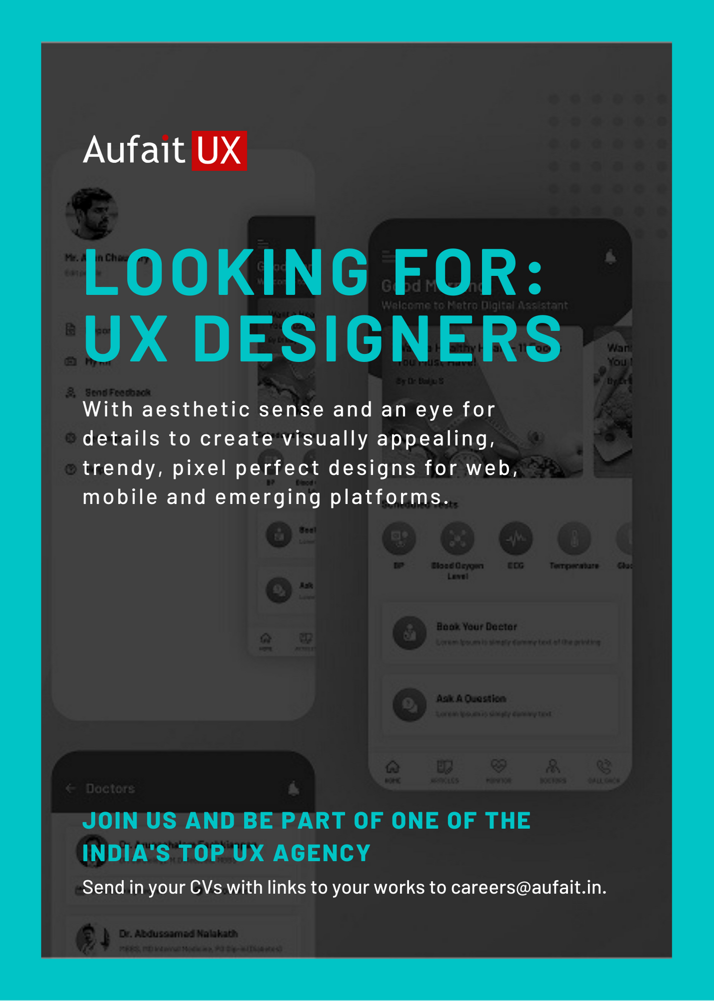Ux Designer Job Iot Design Design Jobs Mobile App Interface