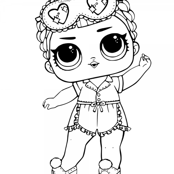 Mermaid Lol Surprise Doll Coloring Pages Merbaby Free Printable Coloring Pages Coloring Pages Merbaby Doll Drawing