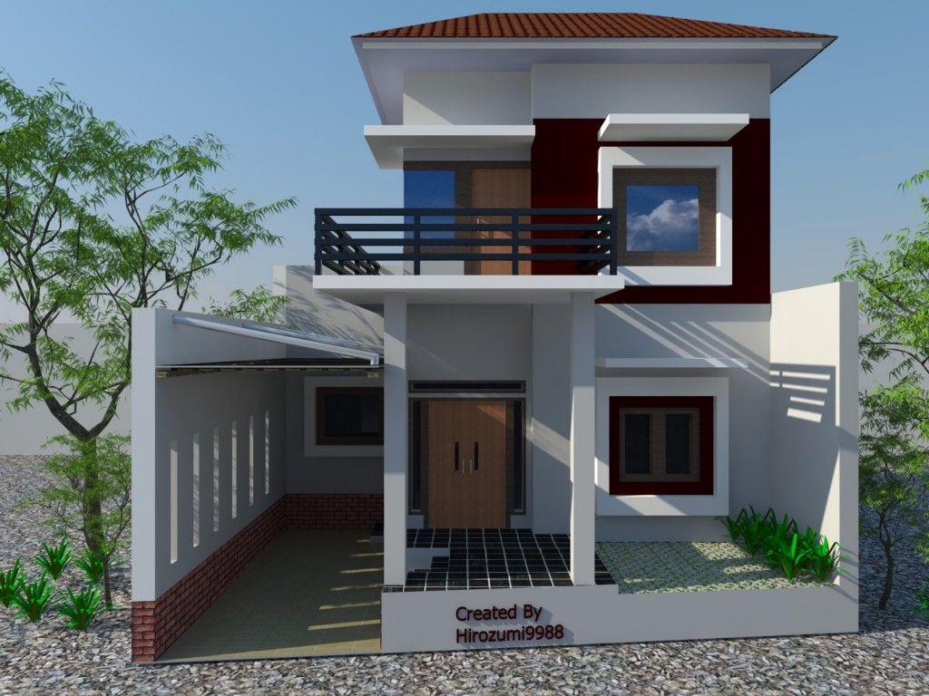 Desain Rumah Minimalis  Modern 2 Lantai 2014 Desain Rumah