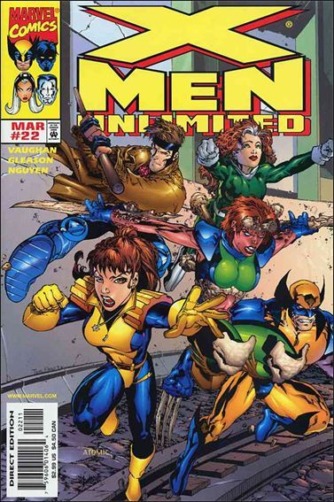 X Men Unlimited Vol 1 22 With Images Jim Lee Art Comics X Men