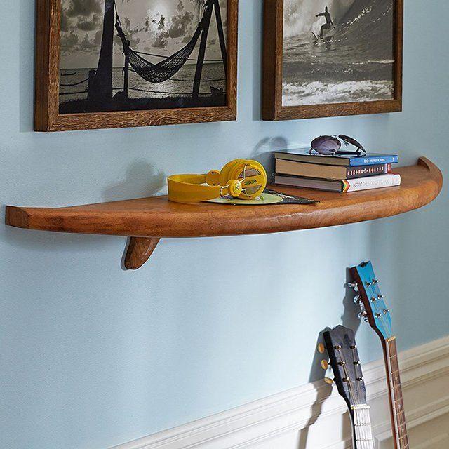 Natural Surfboard Shelf - $180