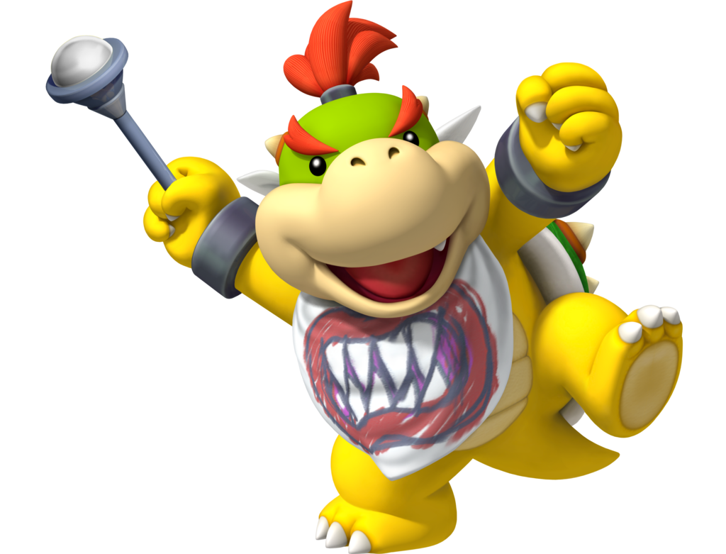 Bowser Jr He S So Cute Super Mario Brothers Bowser