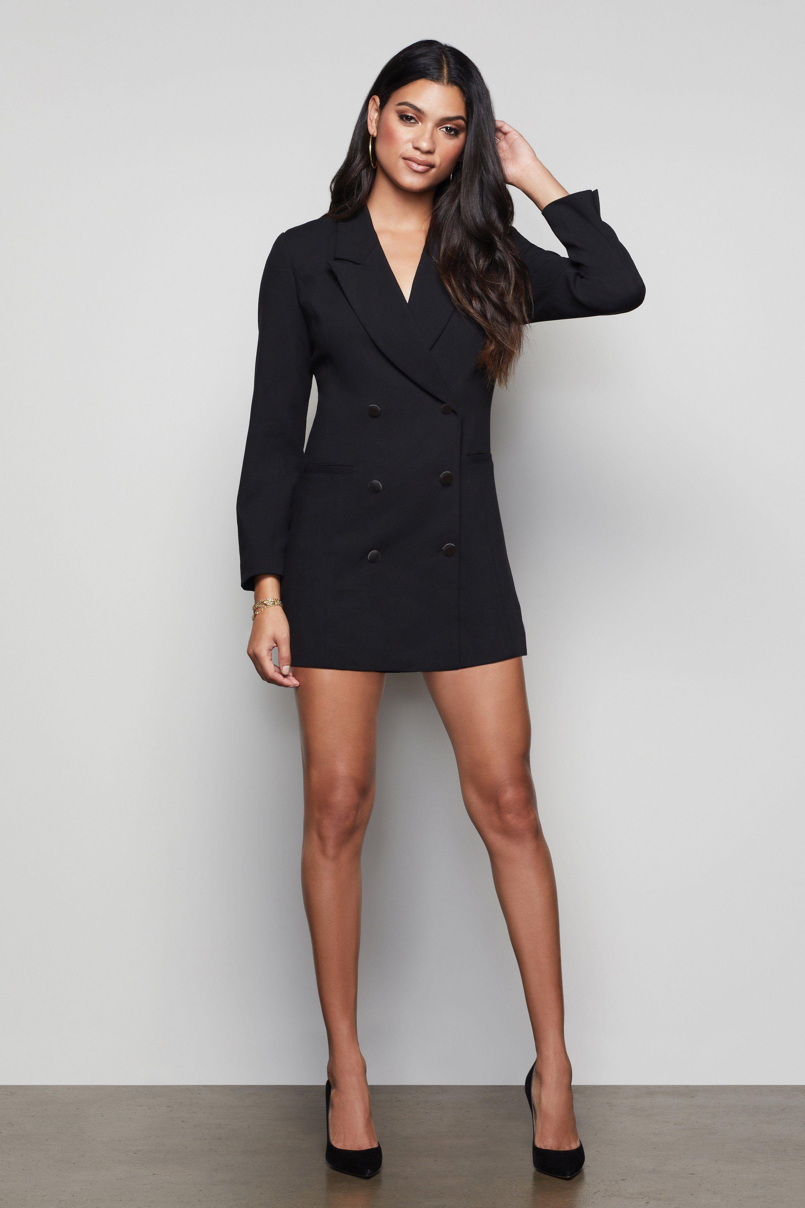 The Exec Blazer Dress Black001 Blazer Dress Black Dress Accessories Black Dresses Classy [ 4001 x 2667 Pixel ]