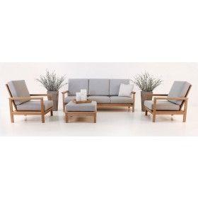 St. Tropez Teak Outdoor Furniture Collection | Landscape project 3 ...