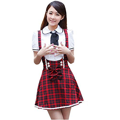 partiss maedchen sweet japan schuluniform fancy dress kleid cosplay anime langarm anzug mantel. Black Bedroom Furniture Sets. Home Design Ideas