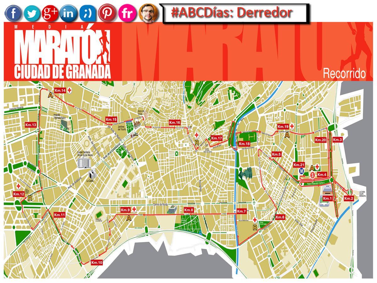 ¡Buenos #ABCDías! Lunes 15/12/14 (GR 9ºC Máx)  ¿Nos vamos de circuito? - Derredor: #Circuito o contorno de una cosa.