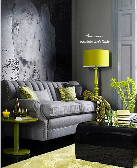 Inspirational Gray and Yellow Make What Color
