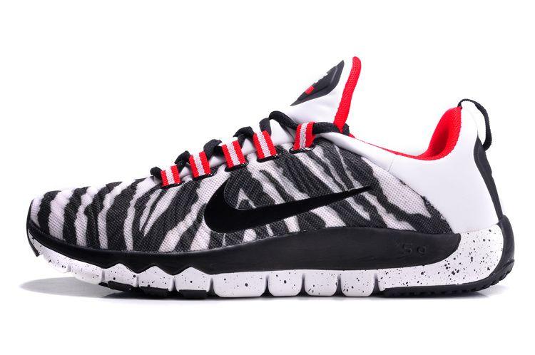 new styles af252 7767a get nike free trainer 5.0 2014 mens le challenge red zebra grey white ink black  best