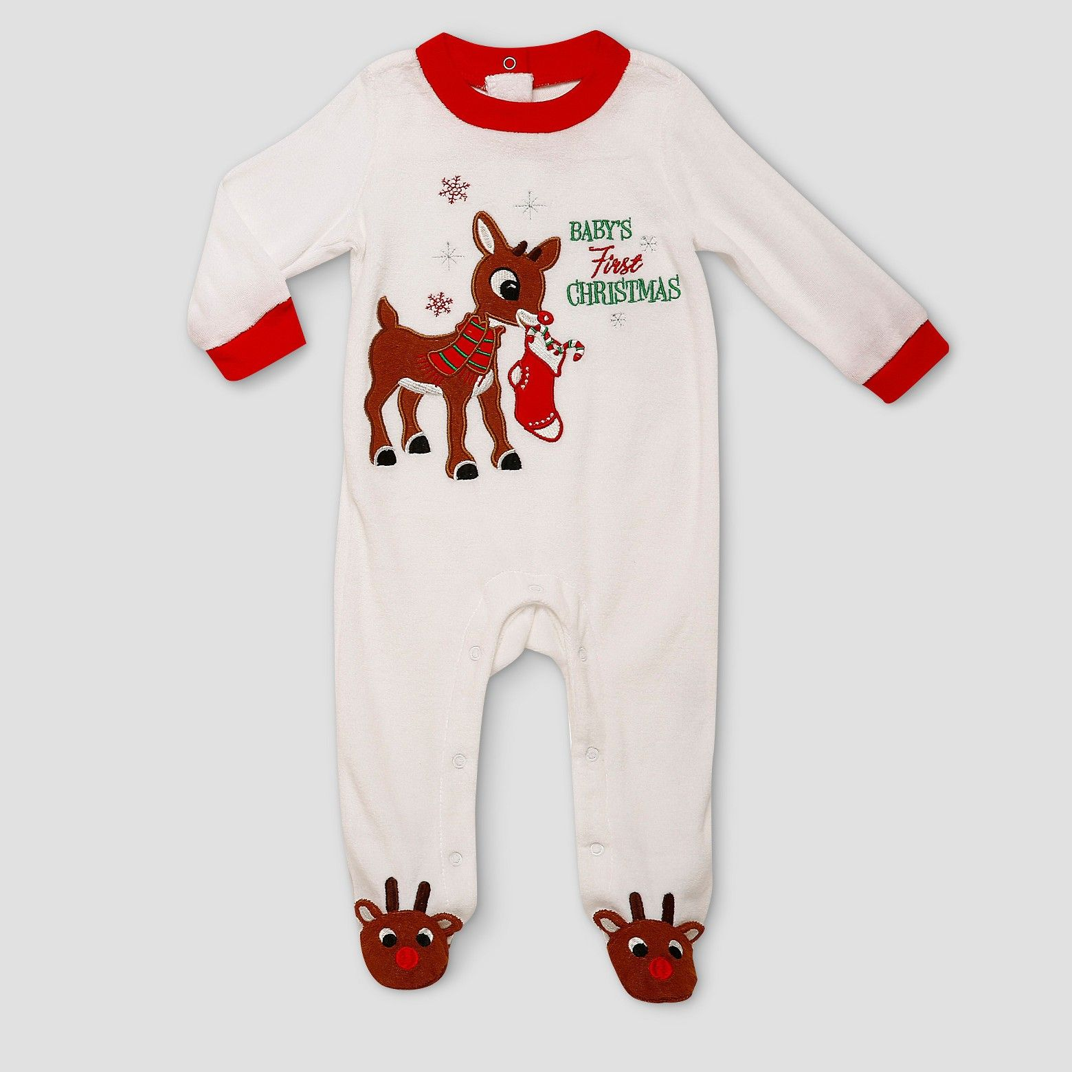 Super cute First Christmas sleeper with Rudolph! afflink
