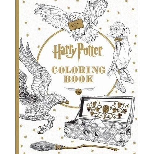 Harry Potter Coloring Book Paperback Explore Hogwarts Castle