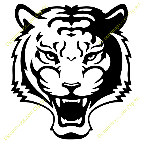 cute tiger face clip art clipart panda free clipart images rh pinterest com tiger face clipart black and white tiger face clip art free