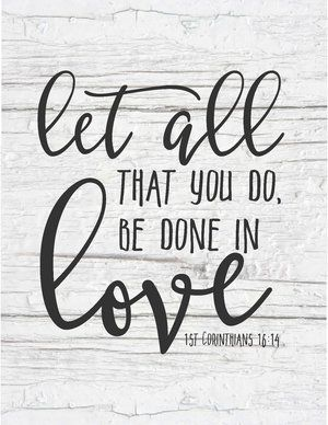 Scriptures on love